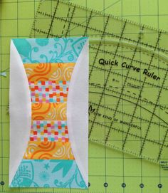 great idea for using up my stash and using Quick Curve Ruler Quilting Blogs, Quilting Rulers, Quilting Tutorials, Quilting Projects, Quilting Designs, Circle Quilts, Square Quilt, Quilt Block Patterns, Quilt Blocks