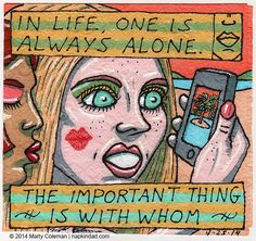 Being Alone #1 – From The Series Formerly Known as 'Unnamed'
