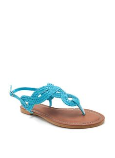 braided knot sandal $15.10