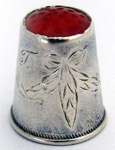 RP: Vintage Scandinavian Thimble - etsy.com
