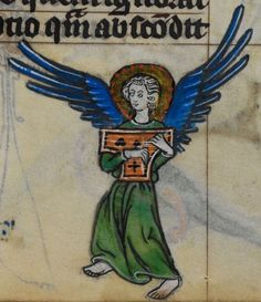 Detail from medieval manuscript, British Library Stowe MS 17 'The Maastricht Hours', f220r