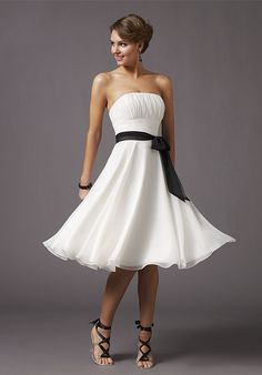 casual wedding dresses for second marriages - Google Search