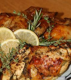 MIH Recipe Blog: Lemon Chicken