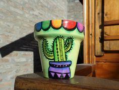 Painted Clay Pots, Painted Flower Pots, Backyard Creations, Flower Pot Design, Clay Flower Pots, Hand Built Pottery, Clay Pot Crafts, Bottle Garden, Painted Sticks
