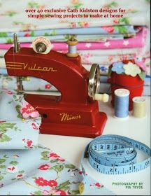 I found out last week that Cath is bringing out a new book - due out 16th October. Sew! looks quite like Make! which I thoroughly enjoyed ...
