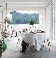 Escape for a Minute to This Utterly Perfect Scandi Boathouse - That's Rather Lovely - Curbed National