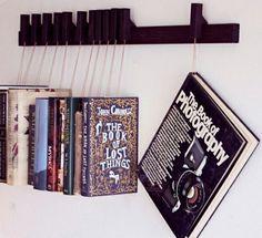 Kreative Ideen für Bücher Aufbewahrung - Hausbibliothek Design