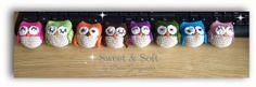 Sweet & Soft: BÚHOS Japanese, Sweet, Owls, Facebook, Cute Girls, Crocheting, Magick, Amigurumi, Manualidades