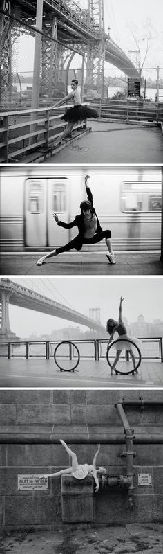 Selected shots for 'The Ballerina Project' photographed by Dane Shitagi, 2010/11.