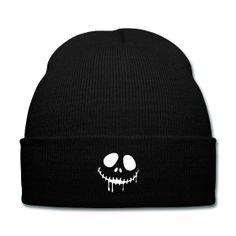 Skeleton Smile Beanie - Available Here: http://sondersky.spreadshirt.com.au/skeleton-smile-A18447038