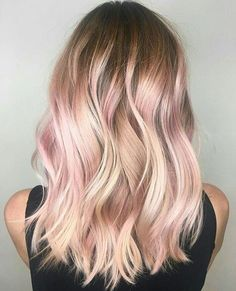"46 Likes, 16 Comments - Mama Loves Lips Lipsense (@mamaloveslips) on Instagram: ""Hmmm.... should I ?! . . . . . . . . . . . . . #rosegold #rosegoldhair #pinkhair #hairgoals…"""