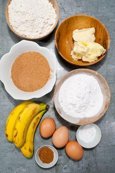 Love is in the food » Receta del bizcocho de plátano con toffee
