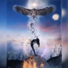 Native American Prayers, Native American Horses, Native American Artists, Dark Fantasy Art, Fantasy Artwork, Broken Heart Wallpaper, Animated Love Images, Mermaid Wallpapers, Eagle Pictures