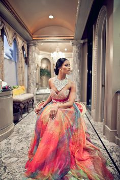 Gorgeous Surprise African Wedding In A Mansion New York Who Says You Have To Wear White For Your