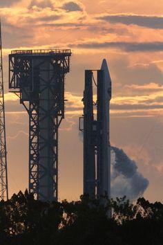 Atlas V Rocket and TDRS-M