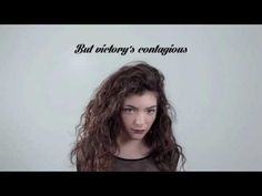 Glory and Gore - LORDE (HD Lyrics)