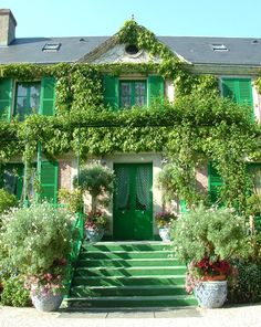 Claude Monet's House & Garden at Giverny. I love the artist, love his house and love his garden.