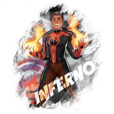 Marvel Rising: Secret Warriors Inferno official art Marvel Fan Art, Ms Marvel, Marvel Comics, Marvel Heroes, Young Avengers, New Avengers, Sabrina Carpenter Wildside, The Watcher Marvel, Marvel 1602