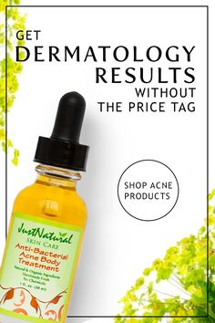Say goodbye to acne with the product that everyone's been talking about. Just Natural's high-performance Anti-Bacterial Acne Body Treatment gets deep into pores where breakouts begin and helps stop acne before it starts. Unlike many other products, it's handmade from nutritive ingredients that soothe and heal the skin. Find it at JustNaturalSkinCare.com.
