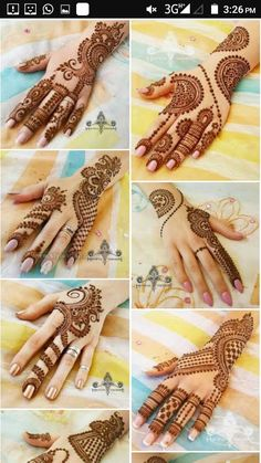 Mehendi designs Short Mehndi Design, Wedding Henna Designs, Finger Henna Designs, Mehndi Designs For Girls, Mehndi Designs For Beginners, Modern Mehndi Designs, Mehndi Design Pictures, Mehndi Designs For Fingers, Beautiful Mehndi Design