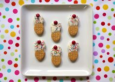 Nutter Butter Ice Cream Cones | Plain Chicken