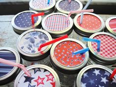 lids for drinks @ BBQ or picnic!