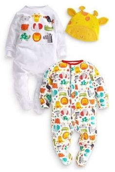Many thanks to Sara for these gorgeous two Pack Bright Animals Sleepsuits x x x
