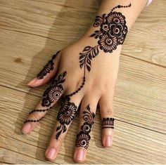 The mehndi provide uniqueness and attractiveness to your decorated design. In this article, you will see Simple Mehndi Designs For Beginners. Henna Hand Designs, Eid Mehndi Designs, Mehndi Designs Finger, Indian Henna Designs, Mehndi Designs For Girls, Mehndi Designs For Beginners, Stylish Mehndi Designs, Mehndi Designs For Fingers, Mehndi Design Images