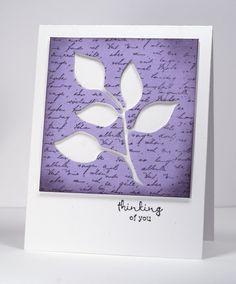 4 petits embossingschablonen Poinçonnage de pochoirs feuille arbre fleur fleur 003