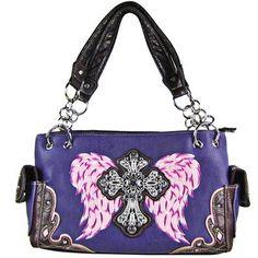 Bright Wing and Cross Shoulder Handbag