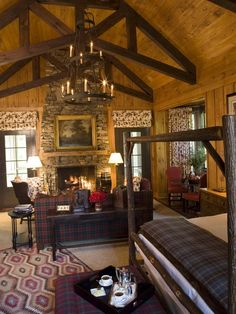 Luxurious Rustic Cottage: Peek inside Blackberry Farm's first-rate accomodations:   http://www.hgtv.com/decorating-basics/rustic-retreats-luxurious-cottage-farmhouse-and-lodge-style-hotels/pictures/page-5.html?soc=pinfave#