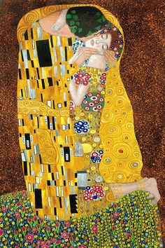 """The Kiss,"" Gustav Klimt Win a FRAMED 8 x10 painting for your LOVE at http://www.marriedmysugardaddy.com"