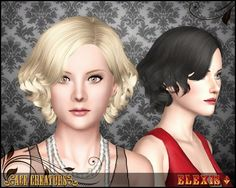 """""""Florence"""" - Curly Hairstyle by Elexis"""