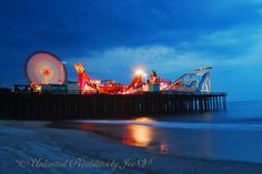 Jersey Shore Summer Fun  Casino Pier in Seaside Heights, NJ...pre Hurrincane Sandy.
