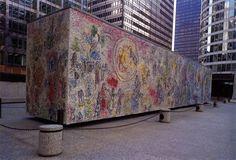 Mozaika – transpozycja kompozycji malarskich Marca Chagalla   Liceum Plastyczne w Zduńskiej Woli