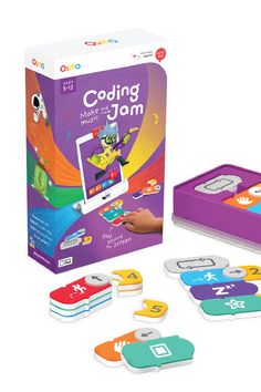 Osmo - Coding Jam - Ages - Music Creation, Coding & Problem Solving - For iPad or Fire Tablet (Osmo Base Required) in Electronics for Kids. Computer Games For Kids, Computer Lab Lessons, Learning Games For Kids, Learning Apps, Educational Games For Kids, Games For Girls, Computer Coding, Educational Toys, Jam Games