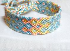 Little Taffy knotted diamond friendship bracelet  by NiceTouch, $12.00