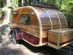Teardrop Trailer- cutest one I've ever seen!
