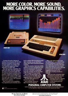 Commodore 128 Personal Computer Vintage Ad x Retro Look Metal Sign Vintage Videos, Vintage Video Games, Retro Video Games, Retro Games, Alter Computer, Home Computer, Gaming Computer, Computer Science, Vintage Advertisements