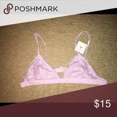 Urban Outfitters Bralette Size large. I am a 36D and it is too small/not enough coverage for me. NWT/Never worn. Urban Outfitters Intimates & Sleepwear Bras