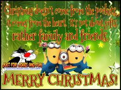Merry Christmas Minion Quote For Family And Friends christmas minion minions christmas quotes christmas humor funny christmas quotes christmas minions quotes for christmas christmas image quotes christmas quotes for friends christmas minion quotes christmas quotes for family