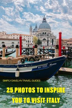 25 Photos To Inspire You To Visit Italy! #Italy #Europe #Travel #adventure #vacation #venice #rome #vaticancity #florence Backpacking Europe, Europe Travel Guide, Travel Tours, Italy Travel, Travel Guides, Travel Destinations, Best Places In Italy, Places In Europe, European Holidays