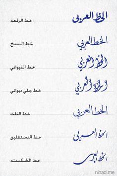 Arabic Calligraphy Styles# I just looove it! Arabic Handwriting, Arabic Font, Arabic Calligraphy Design, Arabic Design, Arabic Alphabet, Arabic Calligraphy Art, Arabic Words, Caligraphy, Arabic Quotes