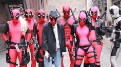 DEADPOOL vs DEADPOOL vs DEADPOOL vs DEADPOOL Check out some AWESOME cosplay gifs here
