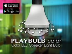 PLAYBULB COLOR - AMPOULE LED MUSICALE MULTICOLORE CONNECTEE - MIPOW - Maison - You'Re Connected