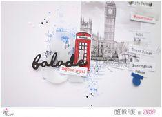"""Flore : Tampons & matrices de coupe (dies) #4enscrap """"London"""" Royal Palace, Tampons, Paris, London, City, Montmartre Paris, Paris France, London England"""