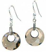 Life earrings- Grey effects - Crystal Pulse Store