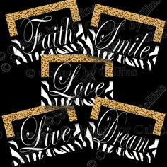 Items similar to Zebra Leopard Print Art Girl Wall Decor Live Love Smile Dream Faith Quote Black on Etsy Zebra Print Bedroom, Zebra Room Decor, Zebra Print Rug, Nursery Wall Decor, Cheetah Print, Animal Print Furniture, Animal Print Decor, Animal Prints, Decoration