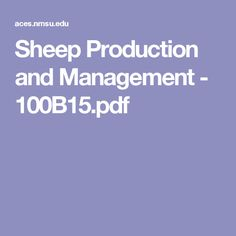 Sheep Production and Management - 100B15.pdf