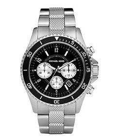 For Kyle::::::Michael Kors Watch, Men's Chronograph Stainless Steel Bracelet MK8174 - Men's Watches - Jewelry & Watches - Macy's